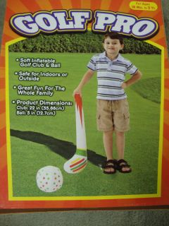 GOLF PRO Golf Club & Ball Set for KIDS 18 Months  5 Years Indoors