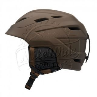 Giro Nine 10 Ski Snowboard All Mountain Helmet Matte Umber