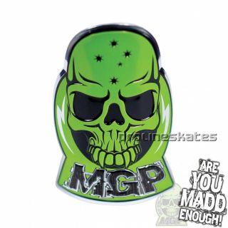 Madd Gear MGP Aluminum Scooter Decal Sticker Green