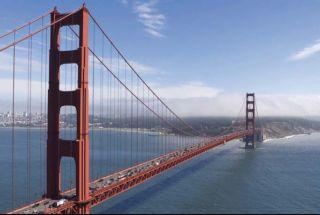 San Francisco Golden Gate Bridge 8x12 Feet Wallpaper Wall Decor Mural