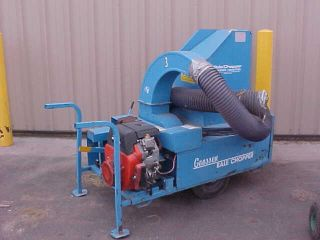 Used Goosen Bale Chopper Mulcher NA8500ESME Honda Engine 18HP