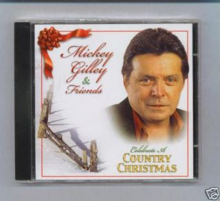 Mickey Gilley Friends Christmas New SEALED CD