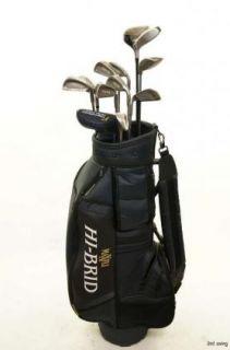 Mens Right Hand Nike Callaway Complete Golf Club Set Bag MRH Regular
