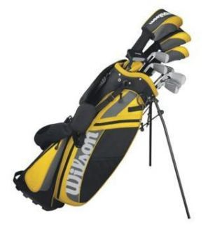2012 Wilson Ultra Mens Golf Clubs Package Set with Bag, Putter and