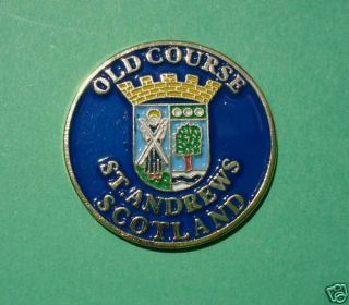 Golf Gift St Andrews Old Course Ball Marker Our Caps