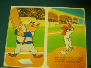 Bugs Bunny Baseball Gas House Gorillas Cel Animation Art Cell