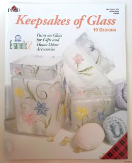 of Glass Decorative Painting Plaid 9699 Craft Pattern Paint on Glass