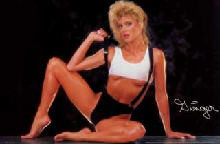 Ginger Lynn Lets Get Physical Orig 1990 23x35 Poster