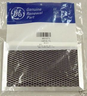 JX81C Genuine GE General Electric Microwave Charcoal Air Vent Filter