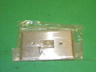 General Electric RP2116 Wallplate Low Volt 1 Gang