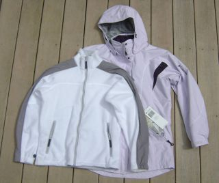 Columbia Peak Glazer II Parka Womens Girls Ski Jacket s 3 in 1