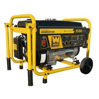 Wen 3500 Watt Portable Generator with Wheel Kit 56352