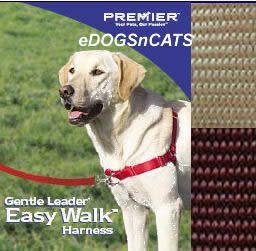 Gentle Leader Easy Walk Harness Dog Fawn Brown Petite