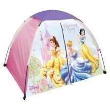 Disney Princess Indoor Outdoor Play Tent Girls Ages 4 New in Box