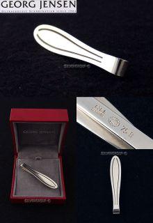 georg jensen silver tie clip 75 b