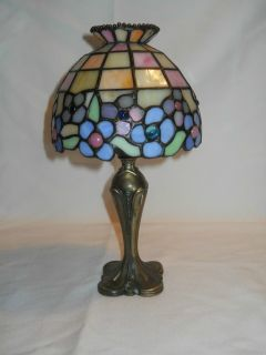 Retired Partylite Stained Glass Tealight Lamp