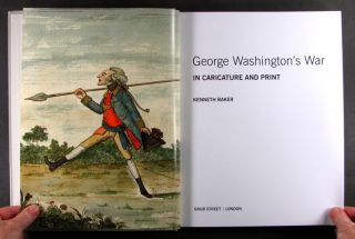 Book Antique English Prints Caricatures of The American Revolution