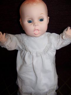 22 Years Old Baby Doll 14 w Original Gerber Outfit Diaper