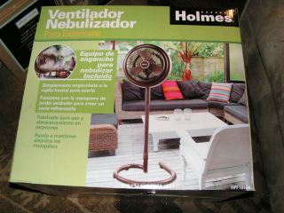 Holmes HPF1010A NM Outdoor Oscillating Cooling Fan with Misting Kit