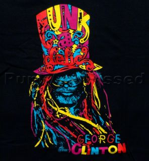 FUNKADELIC George Clinton Top Hat T Shirt Official Fast SHIP