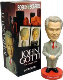 John Gotti Mafia Bobble Head Bobblehead Doll Brand New Bosley Bobber