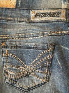New Hydraulic Plus Size 16W 16 Gramercy Original Slim Boot Cut Jeans