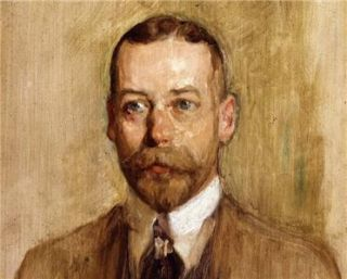 Print Portrait King George V of England United Kingdom