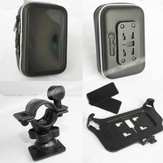 Oxforo Waterproof GPS Motorcycle Bicycle Satnav Case Handlebar Mount