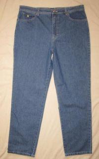 Gloria Vanderbilt Size 18 Avg Amanda Jeans Stretch Denim