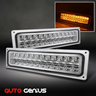 Chevy GMC Tahoe Suburban Yukon Sierra LED Perform Bumper Parking
