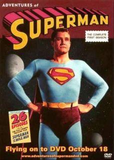 Adventures of Superman George Reeves DVD Promo Card