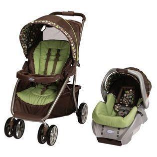 Graco Graco Dynamo Lite Stroller SnugRide Car Seat Travel System Shout