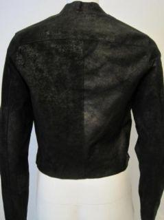 Graham Spencer Womens Black Leather Jacket $748 New