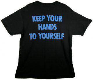The Georgia Satelittes 1986 Promo Tour Shirt Keep Your Hands to