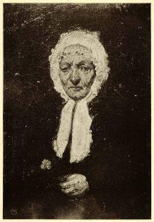 Abbott McNeill Whistler Art Oil Painting Gerard Mother Portrait