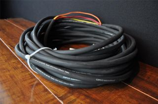 48 Gepco Neutrik 4 Channel MIDI Analog Audio Multi Pair Snake Cable