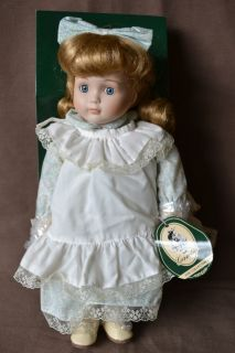 Geppeddo Porcelain Doll 11 5 Tall Model Z1273M
