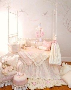 Glenna Jean Ava 8 PC Crib Bedding Set Beautiful New