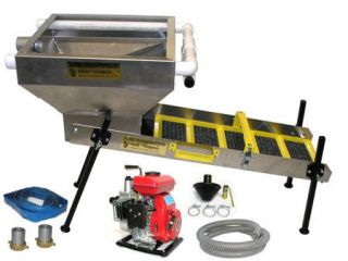 New Power Sluice Highbanker Combo Gold Mining Equipment Tools