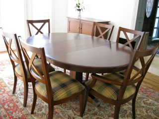 Ethan Allen Elements Dining Room Set