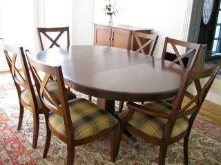 ethan allen elements dining room set