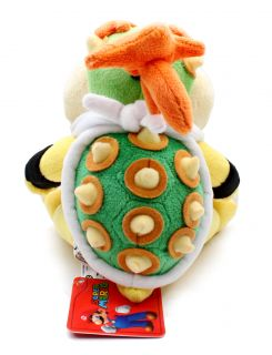 Authentic Brand New Global Holdings Super Mario Plush  6 Bowser Jr
