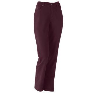 New Gloria Vanderbilt Jeans Stretch Amanda Burgundy