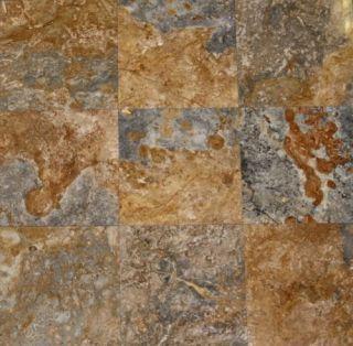 Rustic Travertine Tile Granite Marble Tile Gray Gold