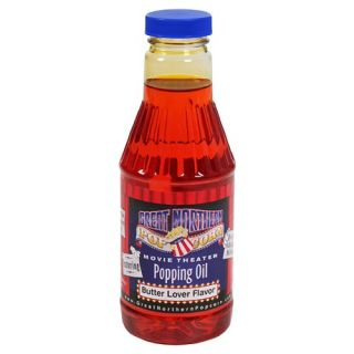 Great Northern Popcorn Premium Butter Popping Oil Pint Flavored