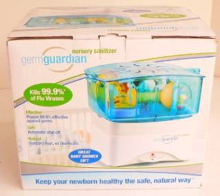 Germ Guardian Dry Heat Nursery Sanitizer Healthy Baby Infant Child