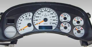 99 02 Chevy GMC Tahoe Yukon Silverado 1500 US Speedo Daytona Gauge