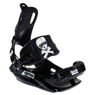 New GNU Backdoor 2012 Snowboard Bindings Black Size XL Ride On