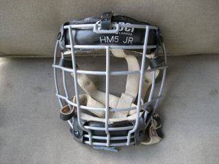 Vintage Cooper Hockey Goalie Cage Mask HM5 Jr Model