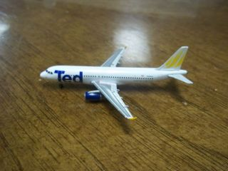 Gemini Jets 1 400 United Airlines Ted A320